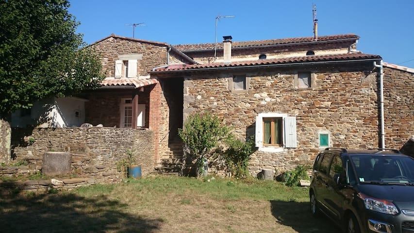Mas Pomel - 2 chambres calmes Cévennes - Gagnières