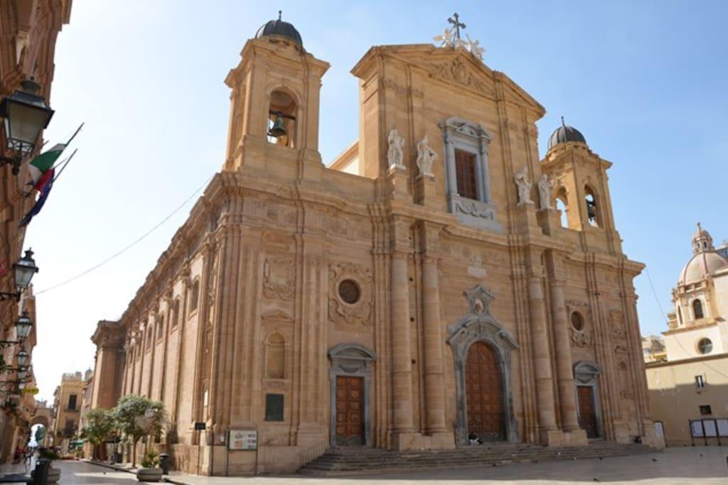 """La Cattedrale di MARSALA  Chiesa Madre """"Mother Church"""""""