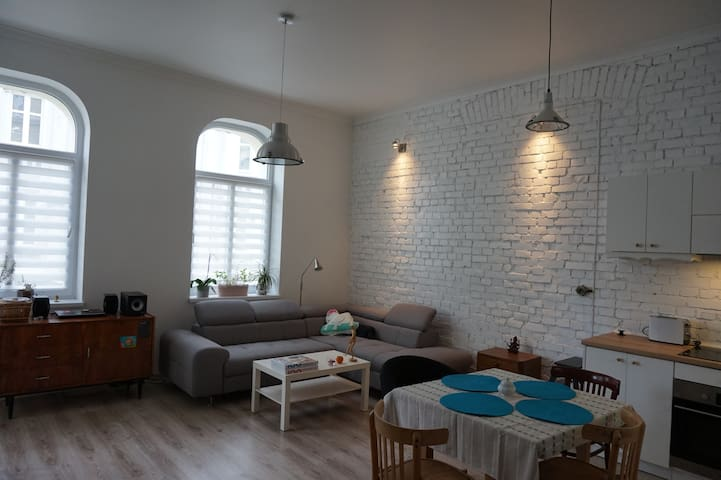 Stylish apartment in city centre - Bydgoszcz - Apartment