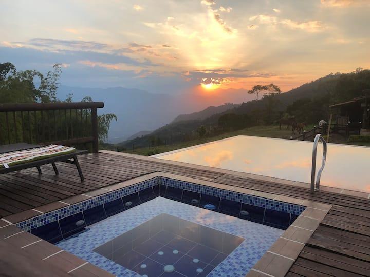 Hermosa casa finca de recreo - Fredonia, Antioquia