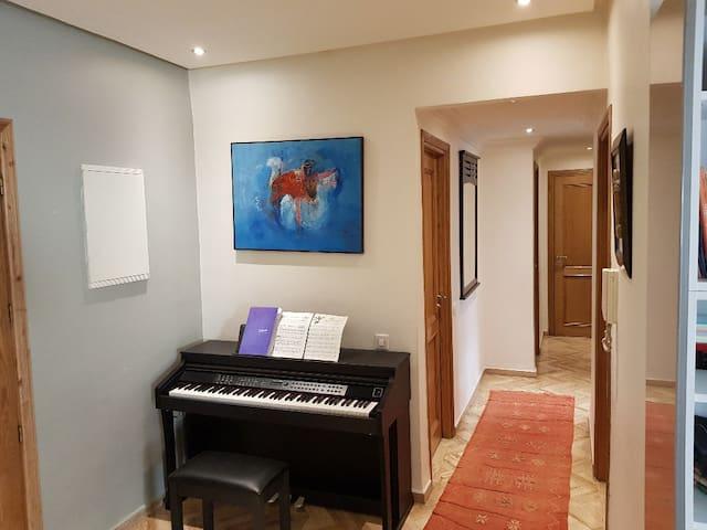 Bel appartement de 3 chambres