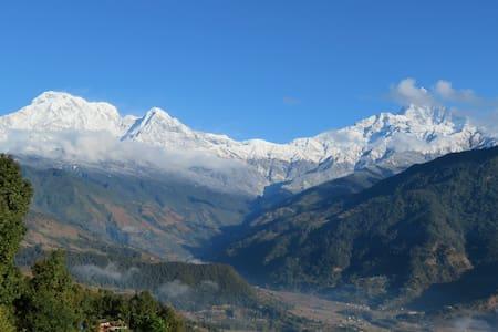 Nepal, Pokhara, Dhital, Dhampus, ABC Trek