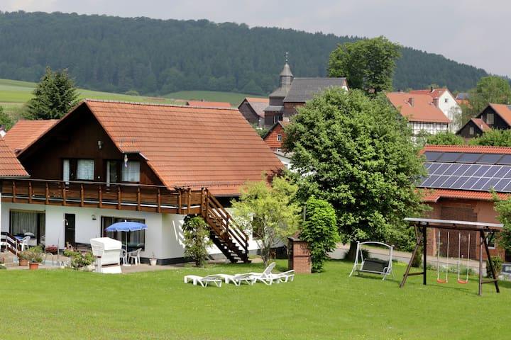 Appartement spacieux à Armsfeld Hesse avec sauna