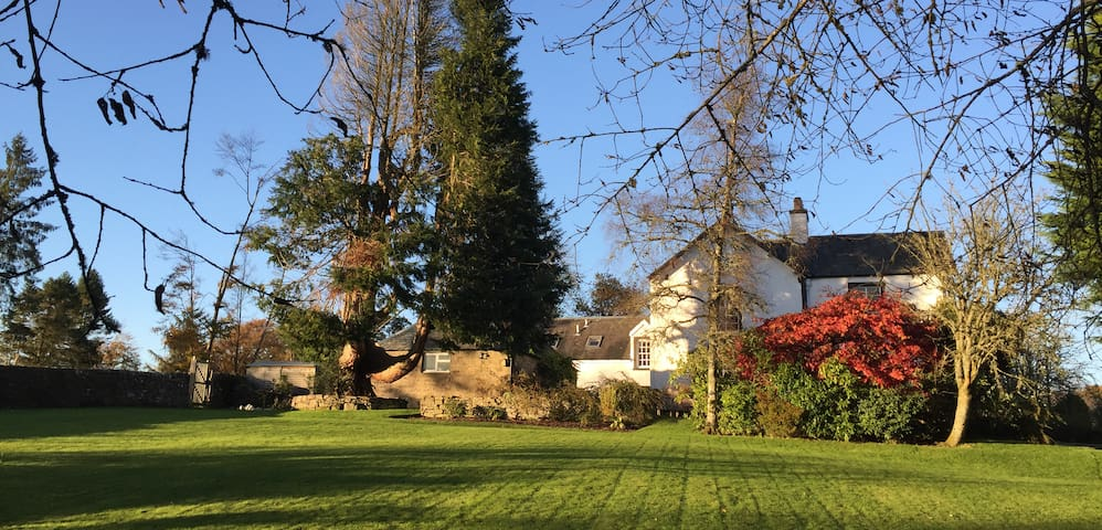 Wester Ardoch is a charming country house.