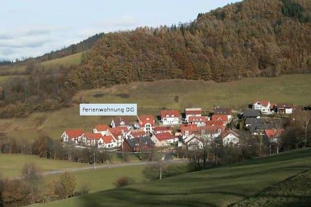 Ferienwohnung Dachgeschoss - Oberried - Daire