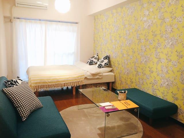 Shisaibashi 5min,Namba Osaka - 大阪市 - Apartamento
