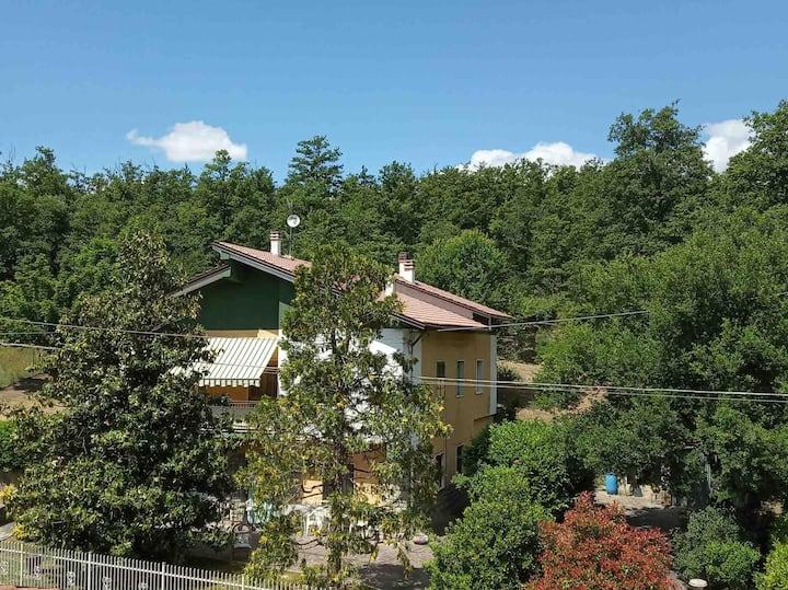 Casa con giardino a due passi dal fiume Limentra