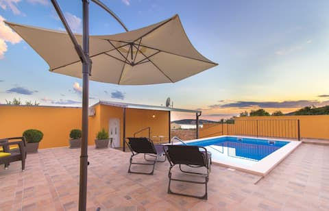 Holiday home Zola, Sevid with private heating pool