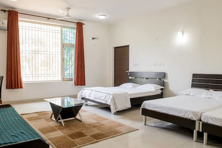 Large Bedroom (3 beds for 1 family) - Jaipur