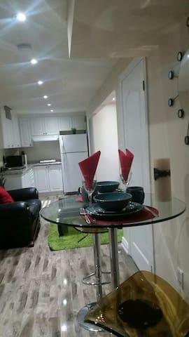New 2 bedroom basement unit with separate entrance - Milton - Muu