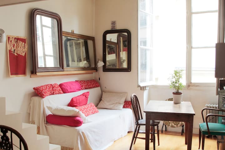 Cosy studio in the heart of Paris