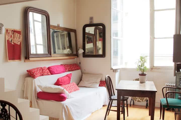 Cosy studio in the heart of Paris
