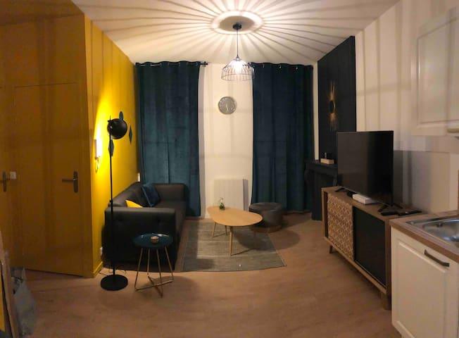 Appartement T2 près centre ville et gare