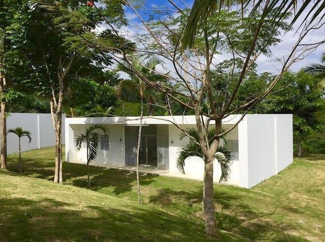 Serafina , organic farm with modern house