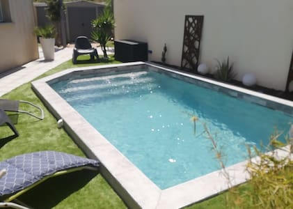 Villa moderne avec piscine