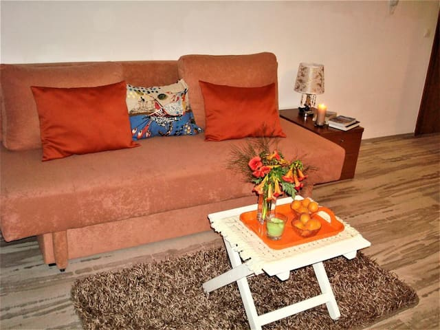 Sweet Antonio - Studio Apartment with Balcony