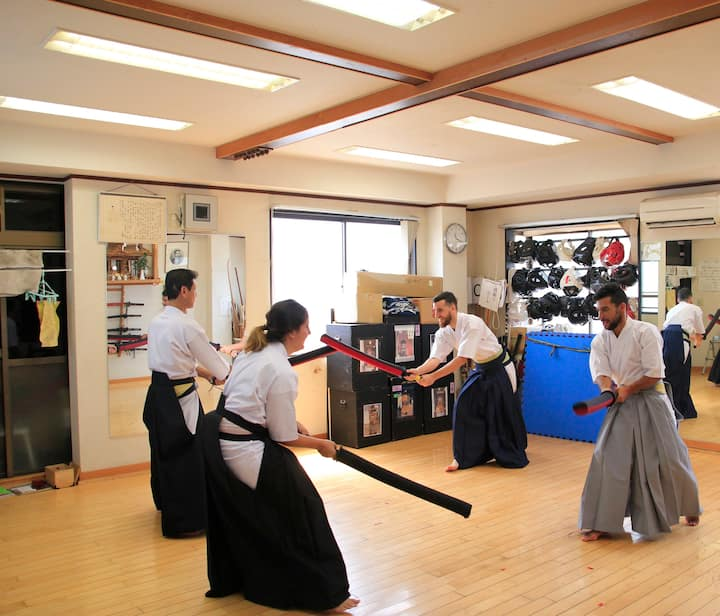 trial match with Gekken shinai