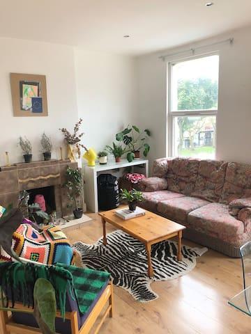 Vibrant home in hackney