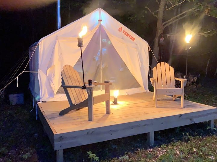 Tentrr Signature Site - Downeast Camping at The Dome