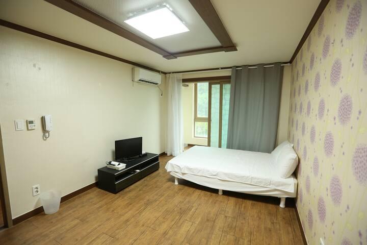 거제의 바다와 앵산의 조화, 깔끔한 원룸 - Hacheong-myeon, Geoje-si - Condominio