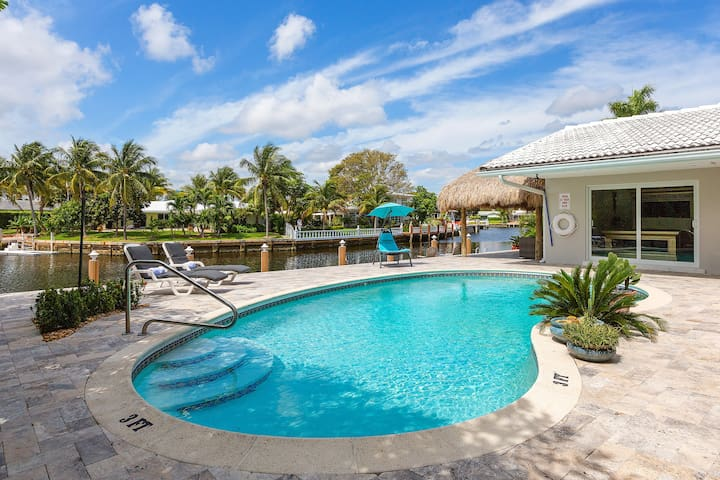 Casa Verde by the Sea -A hidden oasis by the water - Fort Lauderdale - Huis