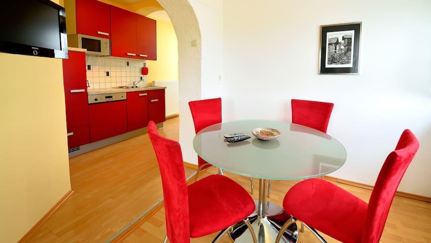 50m² Wohnung mit 2 Schlafzimmer am Klopeiner See - Klopein - Apartamento