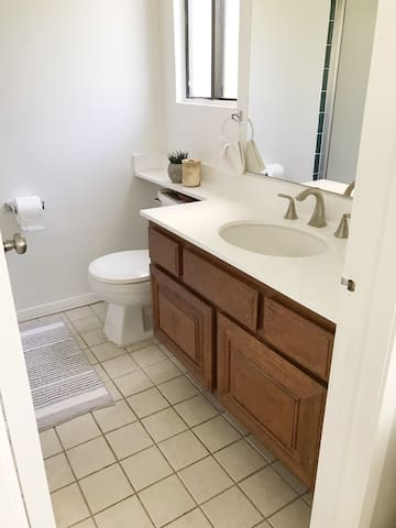 Bathroom attached to your bedroom