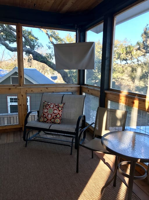 Enjoy your morning coffee in the Screen porch which sports an outdoor TV.