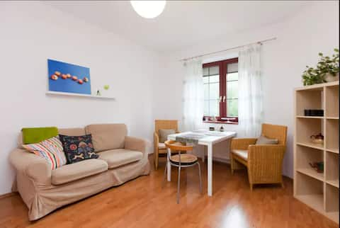 Cosy apartment with big double bed