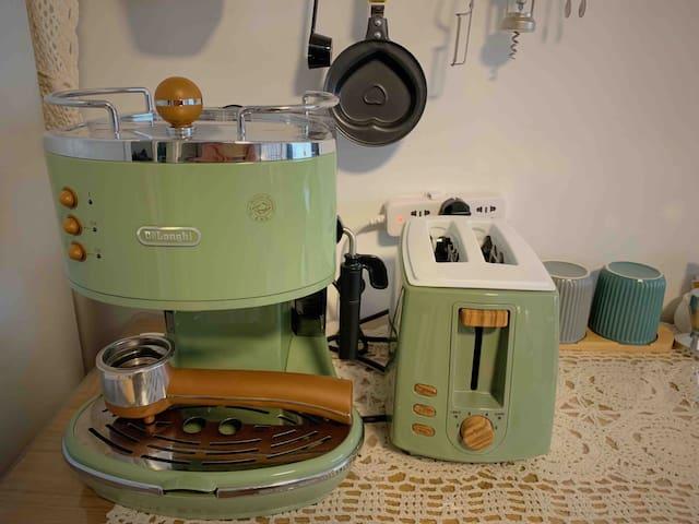 德国原装意式咖啡机