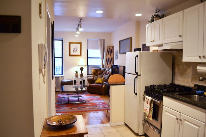 Great 1 BR- Q train, Museum Mile and Central Park!