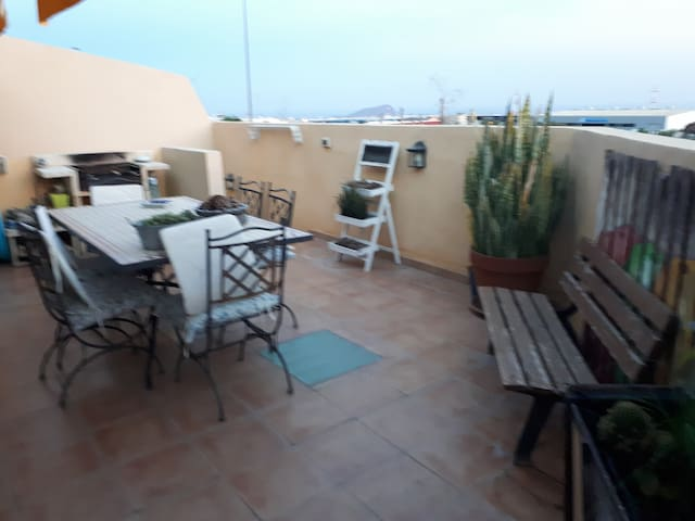Shared terrace (new decoration)