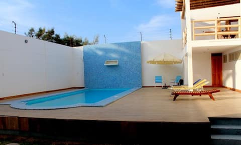 Comfy & beautiful apartment for 5 with pool