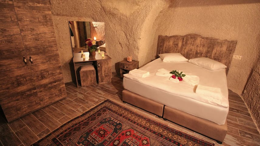 ADELYA 3: Standard Double Cave room  (1-2 persons)