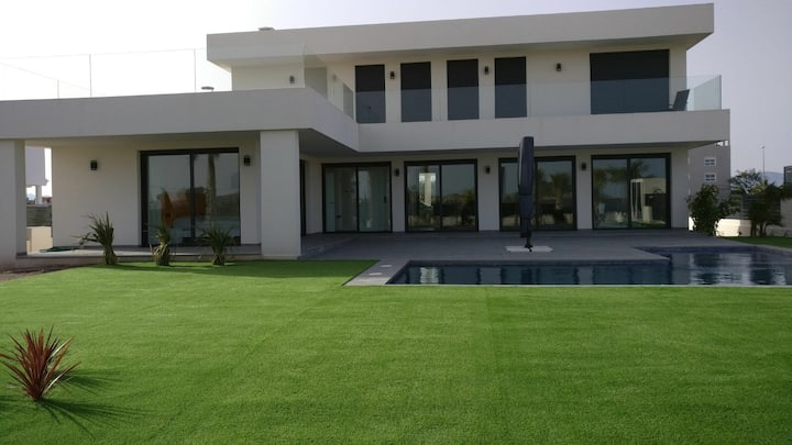 New modern house with pool