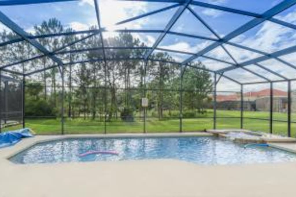 View from South Facing pool