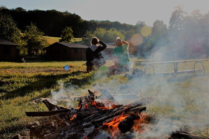 Gruppenunterkunft, am Fluss, in Ruhe, Ostseenah - Golchen - Maison de vacances