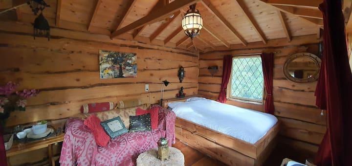 Comfortabele boomhut 'Kraaiennest'