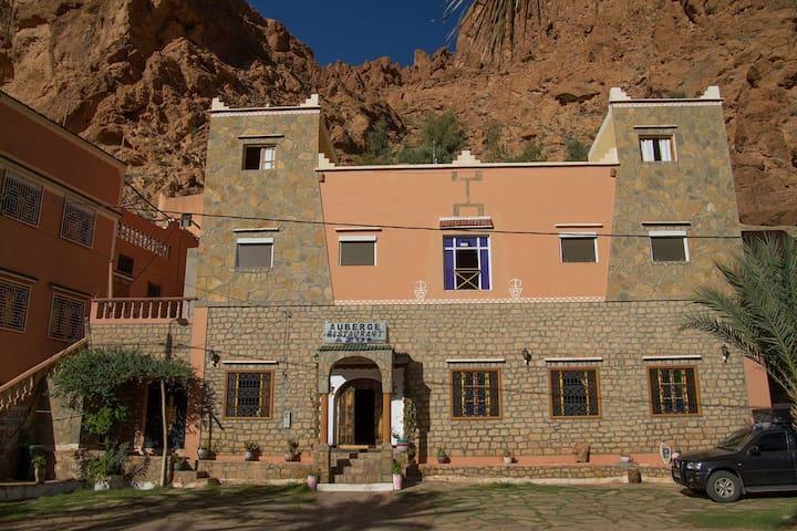 Hôtel Azul, chambre 2 personnes - Tinghir - โรงแรมบูทีค