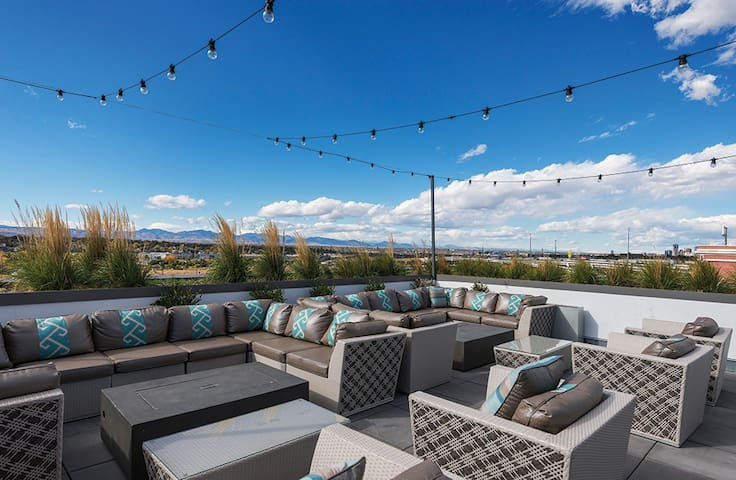 Luxurious Apartment in the Heart of Denver - Denver - Lakás