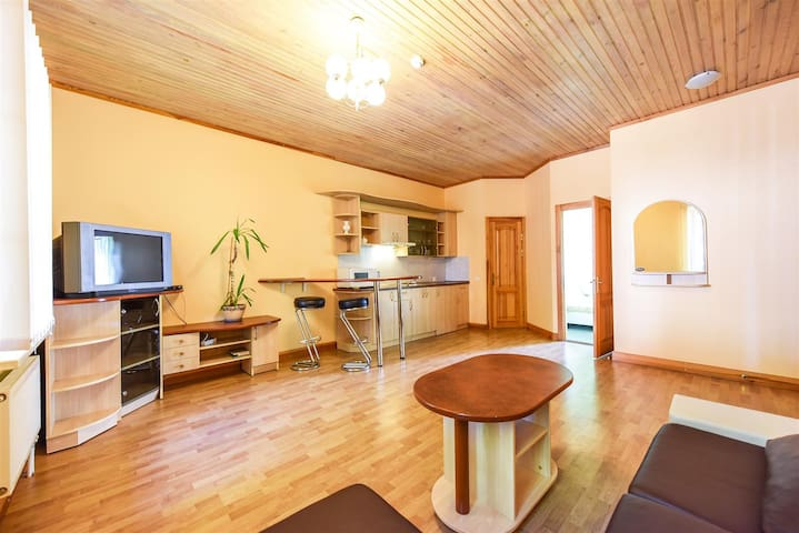 Apartment 2-room for 4 people in Palanga center