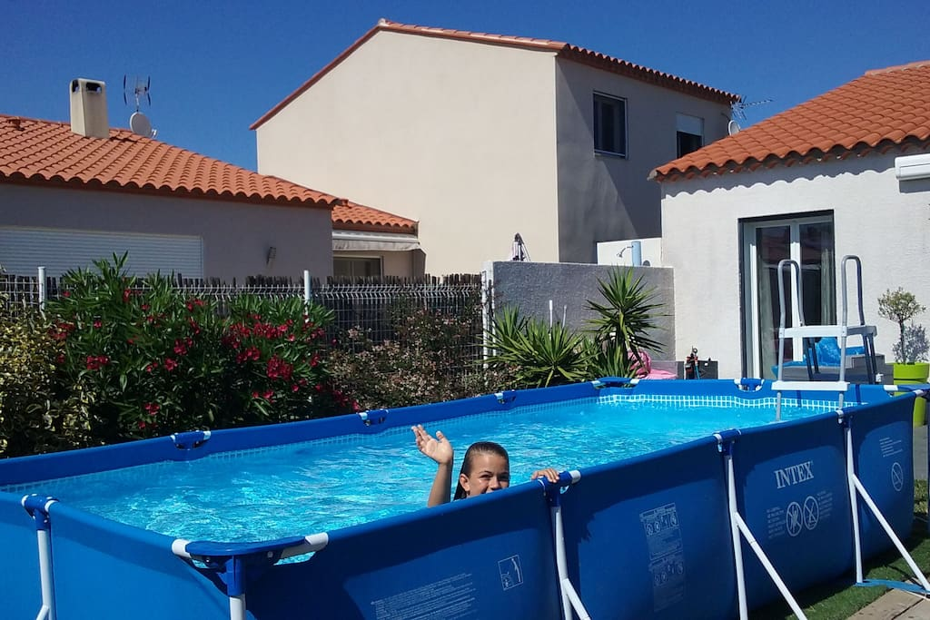 Agr able maison 3 chambres 10mn de la mer houses for for Piscine 4x2