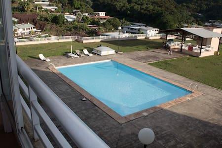 F2 tout confort- terrasse-piscine-parking