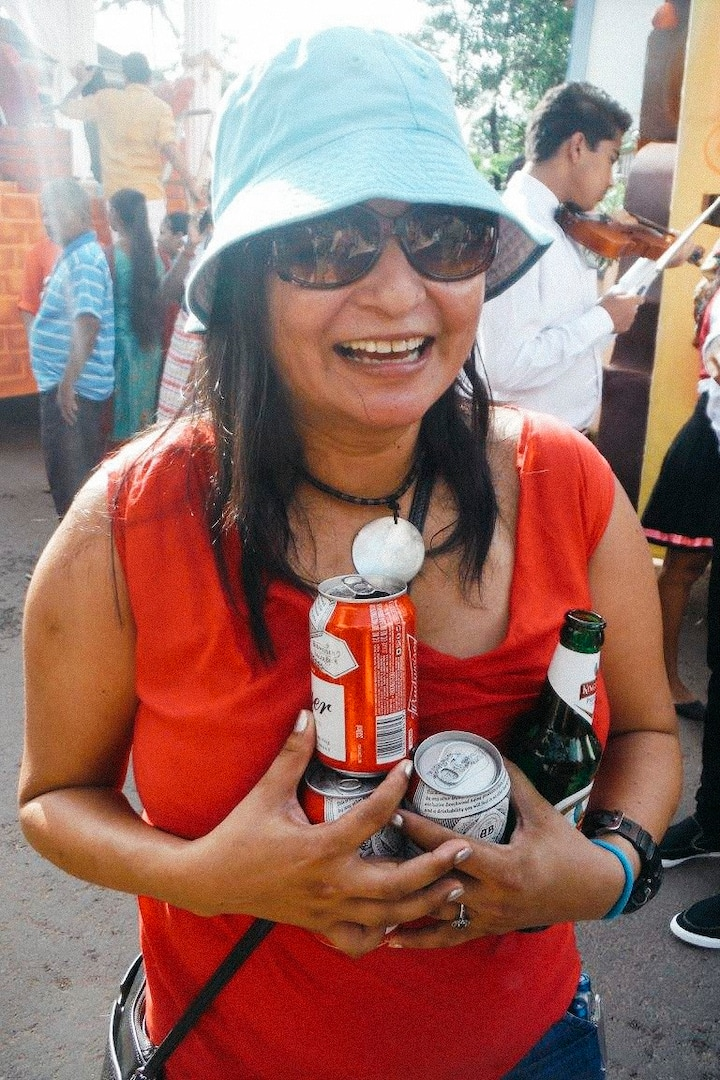 Even local festivals with drinks