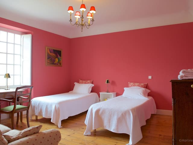 The Pink Bedroom in the Manor House