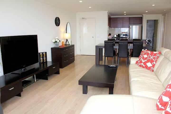 3BRM 2BATH Luxy Apartment +WIFI +Carpark Parkview - เซาท์แบงค์ - อพาร์ทเมนท์