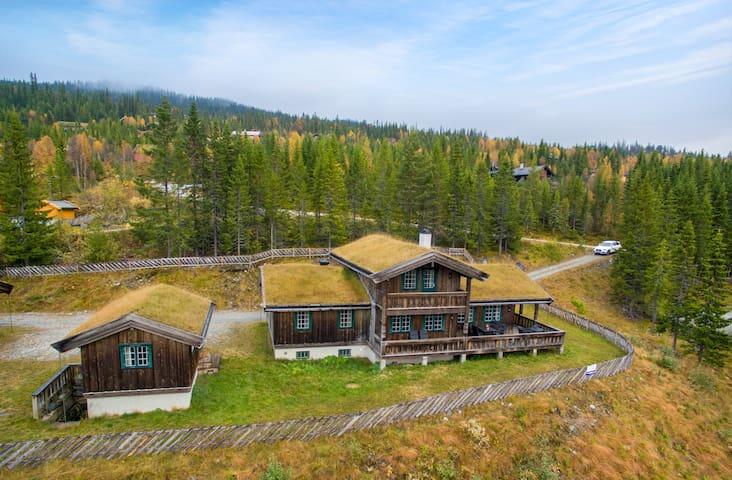 Grand cabin 1 in Nesbyen/view/sauna/jacuzzi