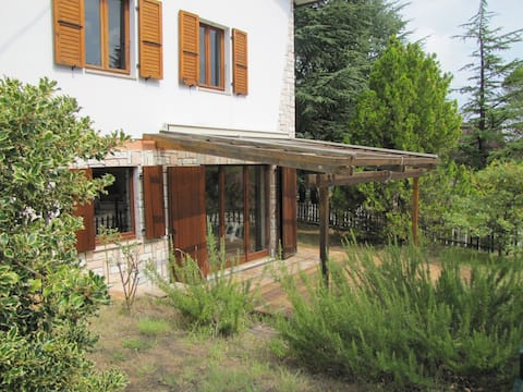 Casa Margani, mezi Sarnano a Sibillini