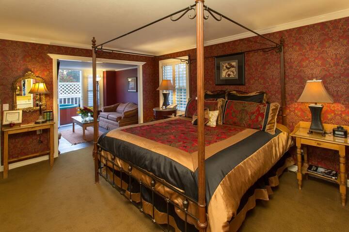 MHA- Guest Room at Apple Farm Millhouse