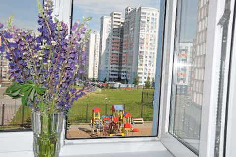 ALL NEARBY - on Rodionova (2-rooms)
